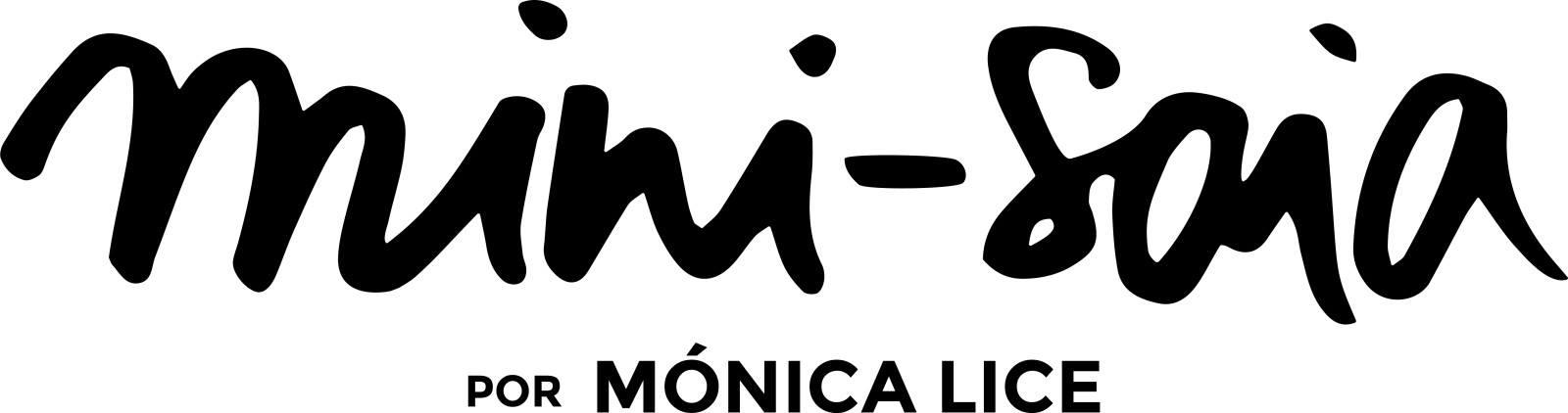 Mini-saia por Mónica Lice